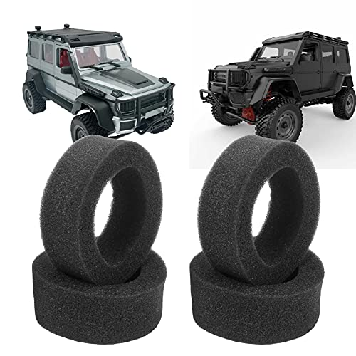 Insertos de Esponja RC, Insertos internos de neumáticos RC 4 Piezas Exquisita artesanía Duradera para Coche RC para Coche de Control Remoto