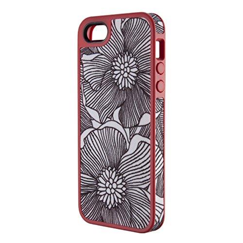 Speck SPK-A0764 FabShell Fresh Bloom Case für Apple iPhone 5 pink/schwarz