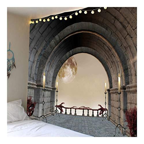 Jue Colgar de la Pared de la tapicería de Bohemia Inicio la decoración del Arte de la tapicería Apartamento del Dormitorio Decoración de la Habitación zxy (Color : B, Size : 150 * 210cm)