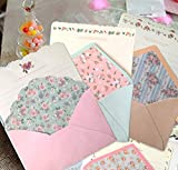 SCStyle 32 Cute Kawaii Lovely Special Design Writing Stationery Paper with 16...