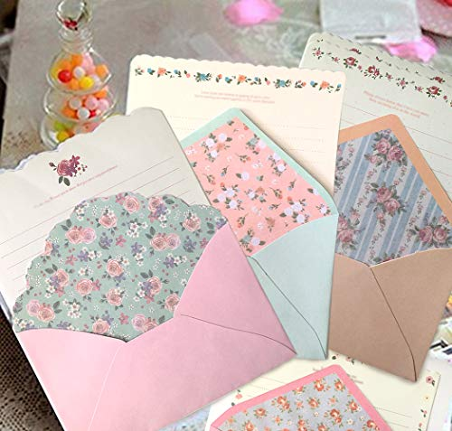 SCStyle 32 Cute Kawaii Lovely Special Design Writing Stationery Paper with 16 Envelope - 32 Letter...