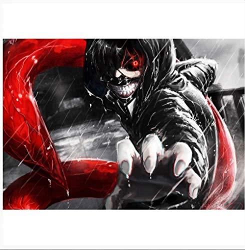 Manga Film Anime Ghoul Voedsel Soort van Soort van Muursticker Decoratieve Foto Poster Decoratieve Frame Muur Schilderij Sticker Photo Hand Pak 42 * 30cm