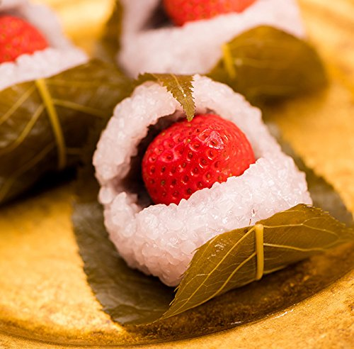 チョコ チョコレート 義理 プレゼント 御礼 お配り ギフト まとめ買い 良平堂 / いちご桜餅 6入 / 良平堂