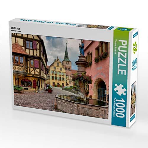 CALVENDO Puzzle Rathaus 1000 Teile Lege-Größe 64 x 48 cm Foto-Puzzle Bild von Thomas Bartruff