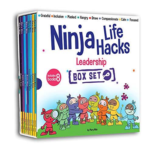 Ninja Life Hacks Leadership 8 Book Box Set (Books 17-24: Focused, Calm, Brave, Compassionate, Masked