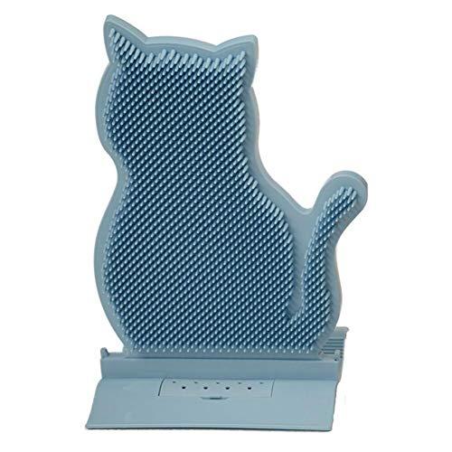 Zonfer Cat Massagebürste Purr Paw Cat Pinsel Katzen Dematting Kamm Massage Relaxing Katze Kamm Haustier Bürste Hundepflege Haarentfernung Reinigungskamm Massagewerkzeug