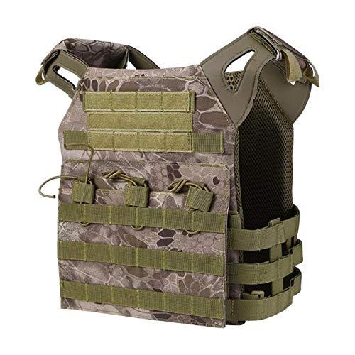 Homeilteds Leichte Taktische Weste Weste Combat Assault Vest Jagd Weste Schutz Waistcoat (Color : 02)
