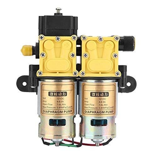 Fdit 12V Lavadora de Auto-cebado de Alta presión portátil de Alta presión...
