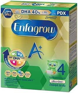 Enfagrow A+ 360 DHA Plus Milk Powder Formula 4 Vanilla Flavored Size 550 g. For family members