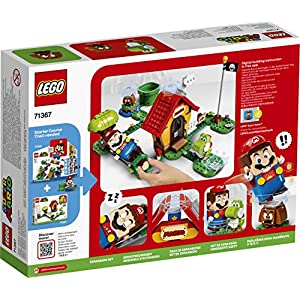 Amazon.co.jp - レゴ スーパーマリオ ヨッシーとマリオハウス 71367
