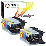 (4B+2C+2Y+2M, Value Set) Compatible LC75 XL XXL LC-75 Ink Cartridge Replacement for Brother MFC-J6510DW J425W J430W J435W J5910DW J625DW J280W Printer, Sold by TG Imaging