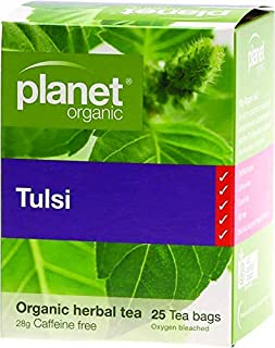Planet Organic Tulsi Herbal Tea 25 Teabags