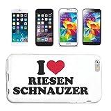 Reifen-Markt Handy-Punkt - Carcasa para Samsung Galaxy S3 Mini, diseño de perro Schnauzer