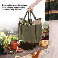 ポータブル収納バッグ、耐久性のある無毒のポータブルハンドル再利用可能な安全な庭の収納バッグ、庭の店の種子のためのオックスフォード生地