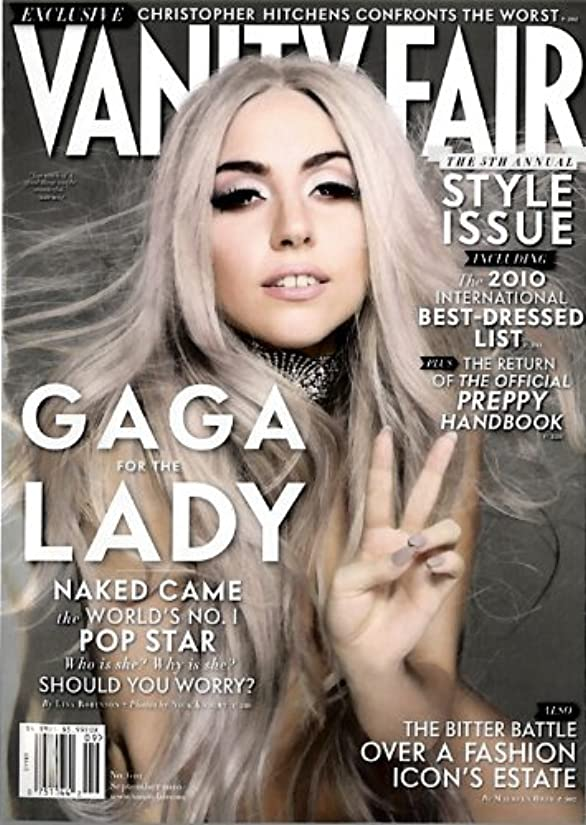 世界的にプロット真夜中Vanity Fair [US] September 2010 (単号)