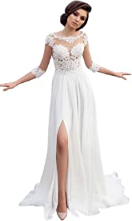 Best beach wedding dresses for over 40 Reviews