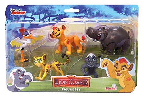 Simba - 109312067 - la Garde du Roi Lion - Coffret 5 Figurines