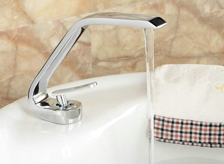 Taps Newly Art Contemporary Bathroom Faucet Basin Faucet Brass Mixer Tap Faucet Chrome Blackened Taps