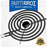 660533 8-Inch Large Surface Element by PartsBroz - Compatible with Whirlpool Stoves - Replaces 299454, 299456, 299461, 301414, 305030-2, 309216, 309340, 319268 & 325503
