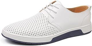 Minetom Homme Business Mocassins en PU Formel Informel Lacets Été Automne Loafers Casual Bateau Chaussures De Flats