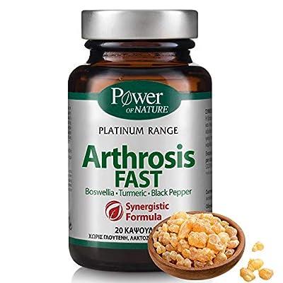 ARTHROSIS Knochen-Gelenk-Kapseln Hochdosiert, Extrakte aus Glucosamin, Chondroitin, Boswellia (Weihrauch), Curcuma Phytosome (2900% bessere Aufnahme) Und Schwarzer Pfeffer