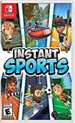 6 sports: Baseball, run's jump, goalkeeper, tennis, bowling & rafting. 20 characters to customize (change your name, outfit, accessories & hair) Varied game modes - Solo or multiplayer for up to 8 players. More than 15 environments and tons of unlock...