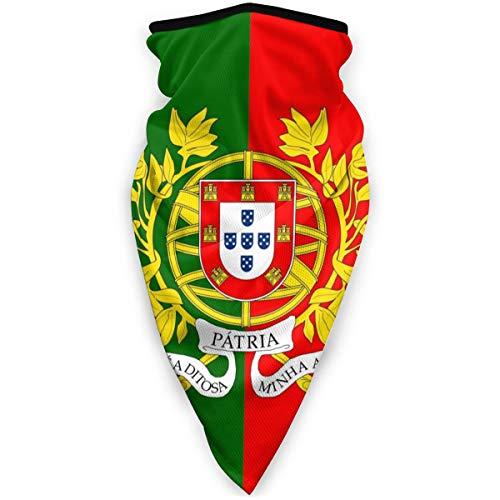 BJAMAJ Gesichtsmaske mit Militär-Flagge von Portugal, winddicht, Sportmaske, Schal, Bandana, Herren und Damen