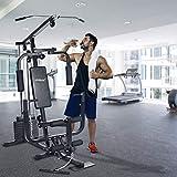 Fitnessstation inkl. 40kg Gewichte, Kraftstation für kompett-Workout auf kleinstem Raum - 6