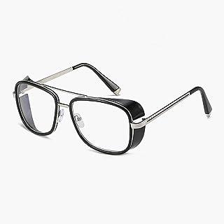 1265947200 VINSHINE Gafas De Sol Masculinas Tony Stark Iron Man Gafas De Sol Retro  Vintage Gafas Steampunk