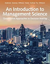 An Introduction to Management Science : Quantitative Approach