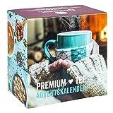 Image of Premium Tee-Adventskalender 2020 XL, 24 weihnachtliche Gourmet-Teesorten, 192 g loser Tee, Geschenk-Idee für Männer & Frauen