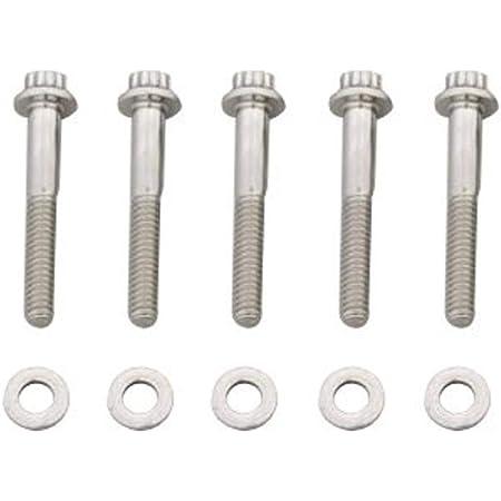 """713-1500 ARP Bolt Kit 12PT 3//8/""""-24x1.500/"""" UHL w// 3//8/"""" Socket Stainless 5pk"""
