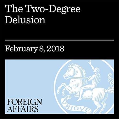 The Two-Degree Delusion audiobook cover art