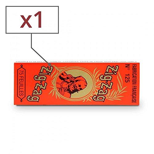 Zig Zag Papier à Rouler Orange x 1