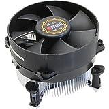 Titan DC-775K925B/RPW/CU30 - Ventilador refrigerador y radiador (Procesador, Ventilador, LGA 775 (Socket T), Intel Celeron, Intel Pentium D, Intel Pentium de Doble núcleo, 9,5 cm, 1600 RPM)