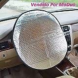 Sonnenschutz Auto Lenkrad, passend für die meisten Auto Modelle (Durchmesser 45cm / 17.71') - Zhiyi