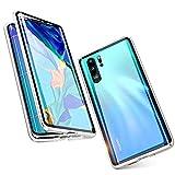TENGMAO Coque magnétique fine et transparente pour Huawei P Smart 2020 - Absorption des chocs -...