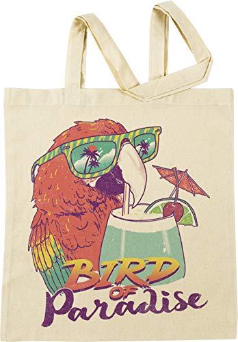 Vendax Bird of Paradise Beige Einkaufstasche