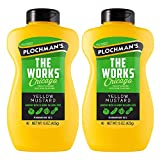Plochman's Yellow Mustard 15 Oz (The Works Mustard, 2 Pack)