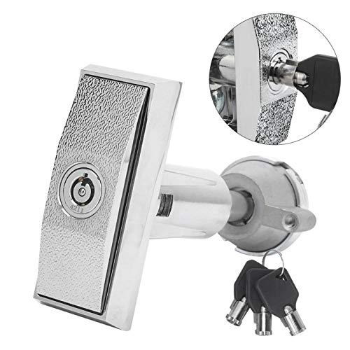 Jeanoko Cerradura de aleación de Zinc Resistente al Uso Cerradura de máquina expendedora fácil de Romper Cerradura de Caja Fuerte para el hogar