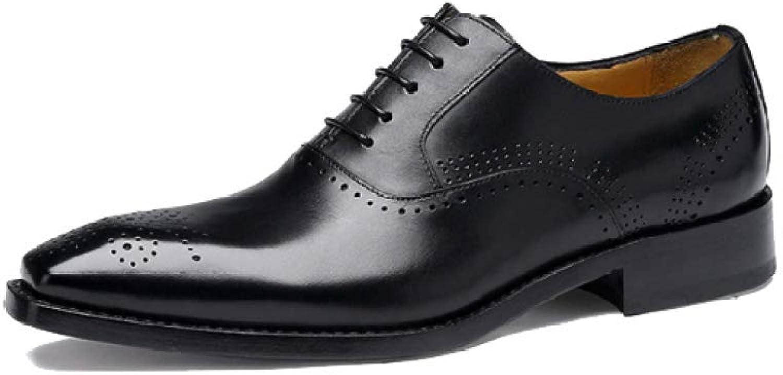ZPEDY Männer Lederschuhe Handgemachte Geschäft Broch Oxford Schuhe Komfort Hochzeit Schuhe Lace B07GMQRXD4    Kompletter Spezifikationsbereich