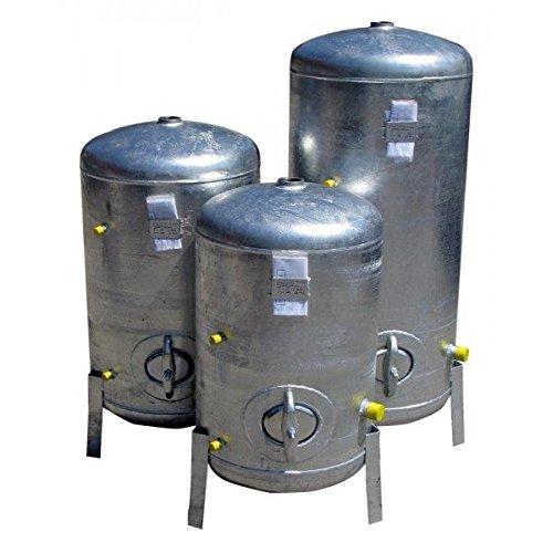Druckbehälter 300 L 9 bar senkrecht verzinkt Druckkessel verzinkt für Hauswasserwerk senkrecht