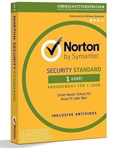 Norton Security Standard 3.0 - 1 Gerät - 1 Jahr - DE/EN/FR + Multilingual - Download - NEU