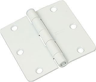 National Hardware N265 074 V512RC Door Hinge In White