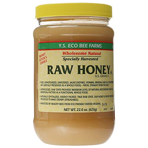 Y.S. Eco Bee Farms Raw Honey - 22 oz,1pack