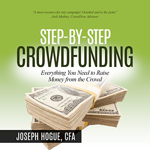 Step by Step Crowdfunding audiobook cover art