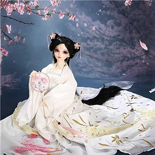 Clicked BJD Puppe 1/4 Full Set Alte Chinesische Dame 15Inch 19 Jointed Dolls Bekleidung Make-Up Zubehör Baby-Puppe-Spielzeug-Geschenk Für Girs Spielzeug