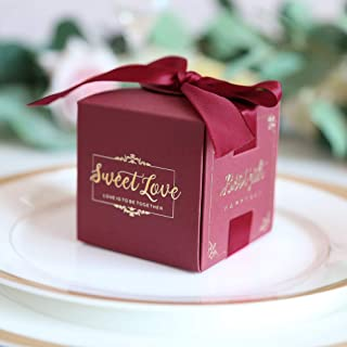 wedding favor boxes and bags