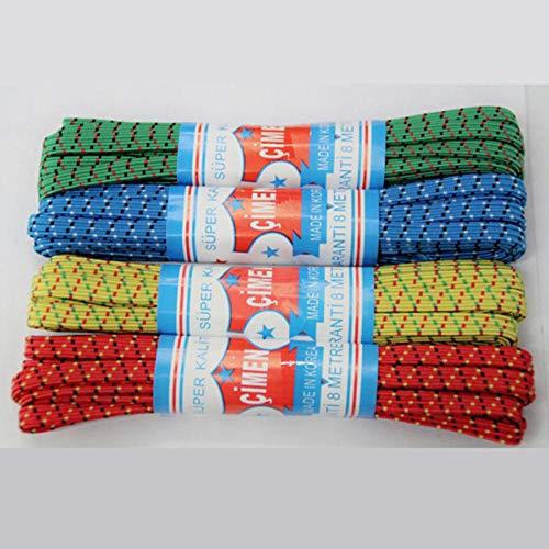 6-10mm elastische band Flat Running Horse elastische banden naaien accessoires bruiloft kledingstuk elastische tape voor DIY moederschap ondergoed, willekeurige kleuren, 10mm 2 meter