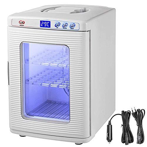 Zhenyue Reptile Incubator 25 l Scientific Lab Incubator koelen en verwarmen 5-60 ° C 12V / 110V werken voor kleine reptielen (wit)